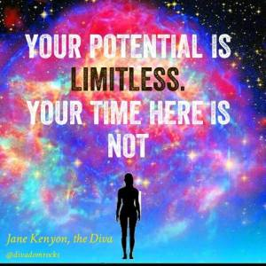 Quote box - your potential is limitless No 164